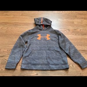 Boys under armour hoodie size large